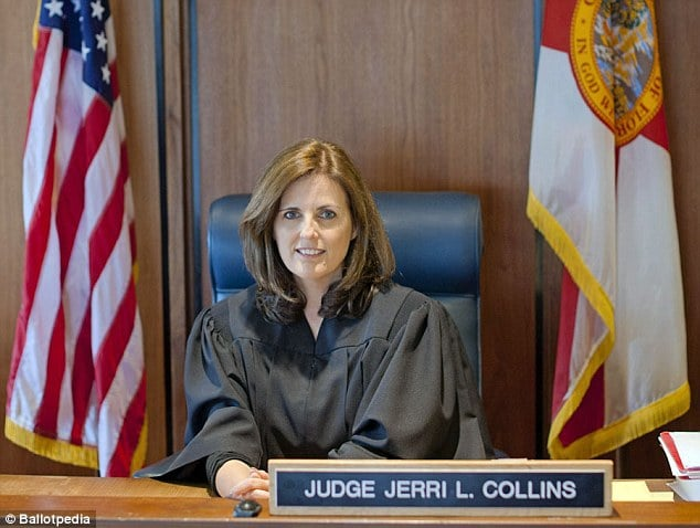 Judge Jerri Collins jails domestic abuse victim