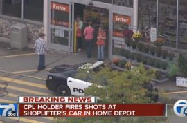 Concealed Home Depot gun shooter to be charged for trying to be a bad ass