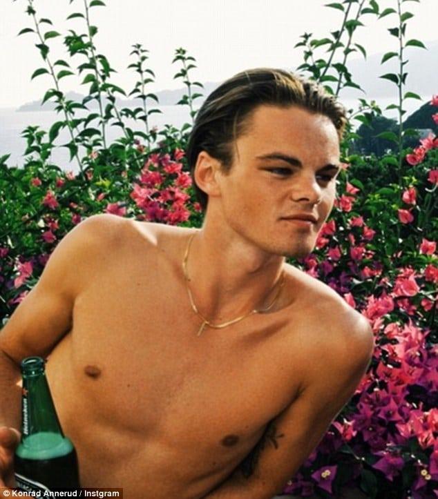 Konrad Annerud Swedish Leonardo DiCaprio lookalike