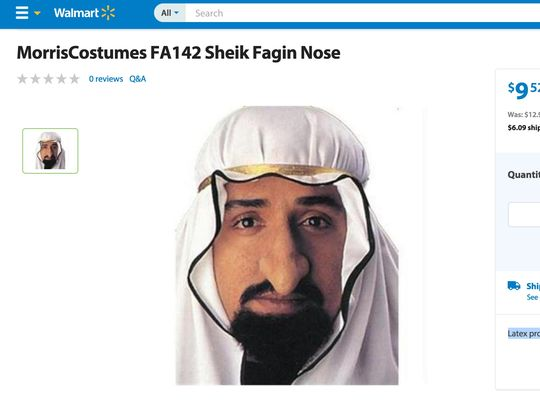 Sheik Fagin Nose