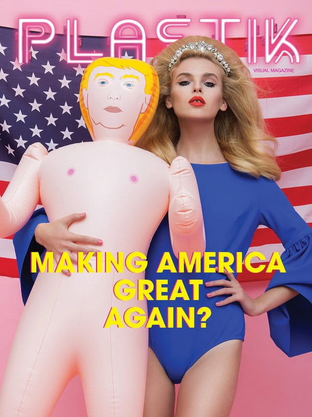 The Donald Trump sex doll Saint Hoax