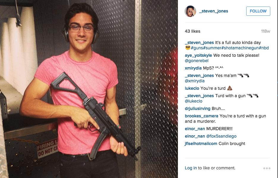 Steven Jones NAU shooter