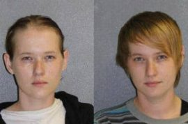 Florida twin sisters Kristin and Kayla Bergeron rob convenience store of ginger ale at gunpoint