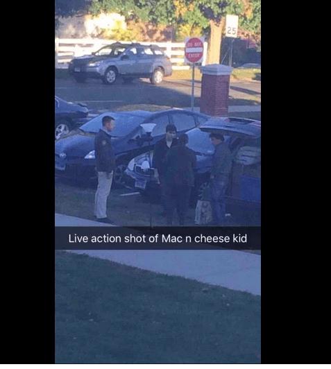 Luke Gatti, drunken mac and cheese UConn student