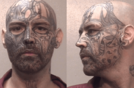 Shalin Ren Payne, tattoo monster rapes fiance's 12 year old daughter