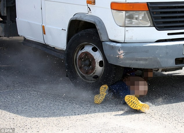 Israeli motorist killed by Palestinian truck after clubbing cars