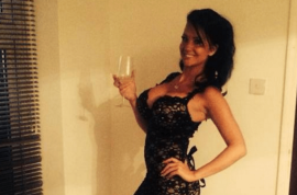 Catherine Byrne photos: UK model scams student loan for plastic surgery