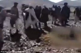 Video: Afghan woman stoned to death after eloping