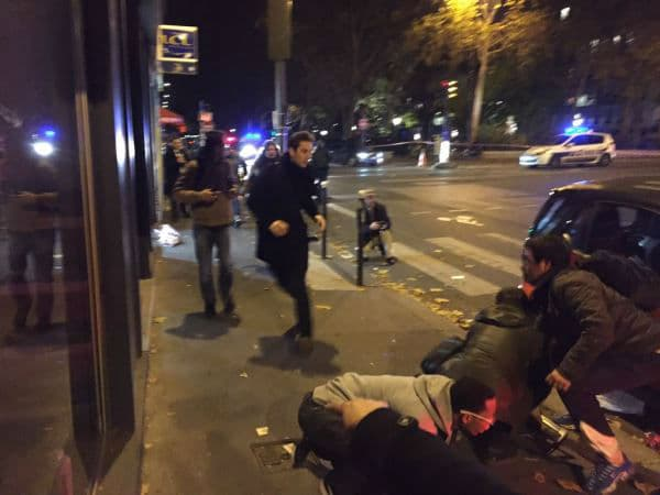 Paris Bataclan theater hostage attack