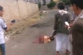 NSFW: ISIS suicide bomber still alive after blowing himself in half in Yemen