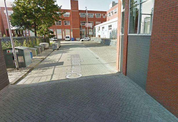 Google street view captures Dutch woman peeing