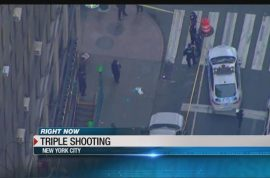 Junkie McDonald's Penn station shooting leaves one dead, two injured