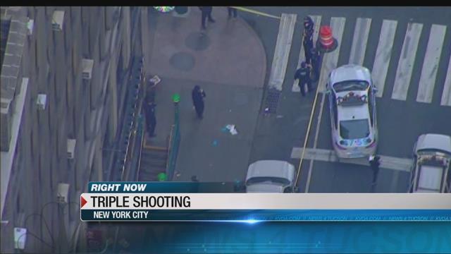 Junkie McDonald's Penn station shooting