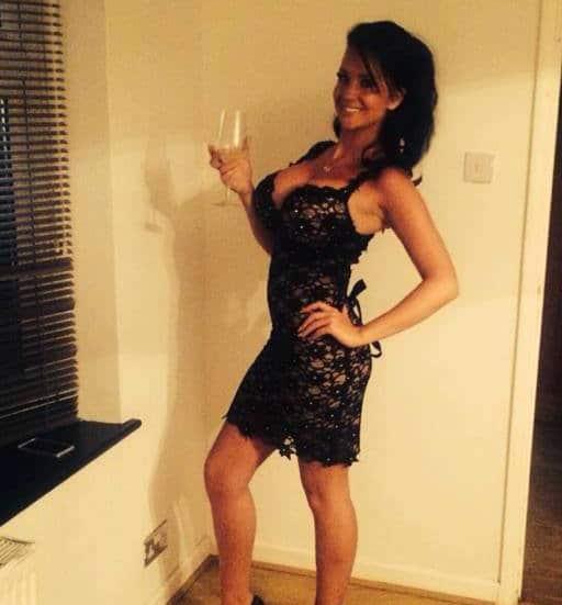 Catherine Byrne UK model.