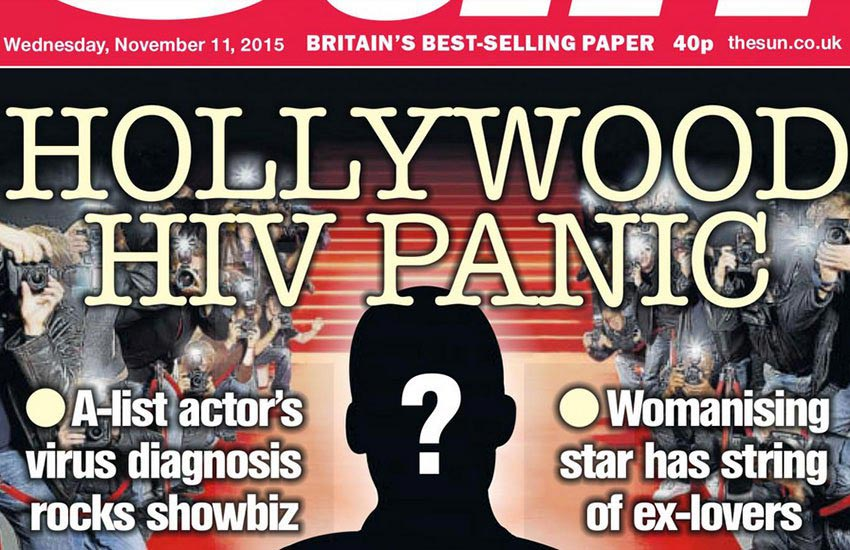 Hollywood actor with HIV has slept with 50 porn stars