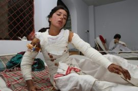 Pakistan woman Sonia Bibi burned alive after turning down marriage proposal