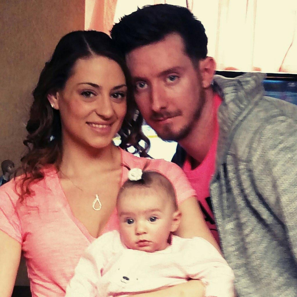 Staten Island couple Jenna Roloph Douglas Lopez go on bender leave 11 month old daughter alone