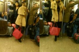 'I'm going to get away with it' A train woman slashes 2 NYC straphangers