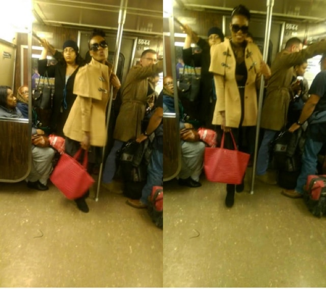 A train woman slashes 2 NYC straphangers