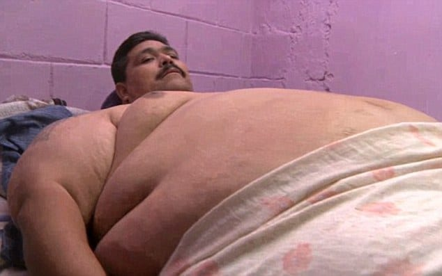 Andres Moreno world's fattest man dies Xmas day