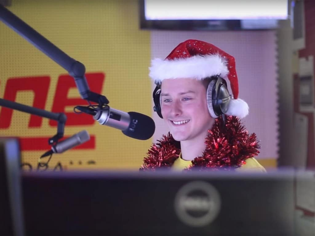 Austrian DJ Joe Kohlhofer played Wham's Last Christmas 24 times