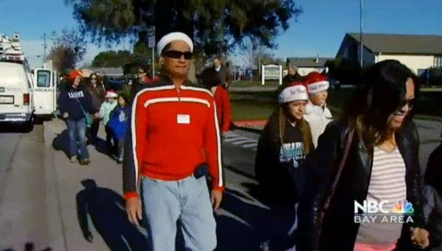 California Jewish mother Santa school trip cancellation