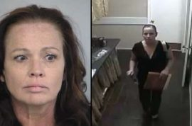 Denise Gunderson, professional bridal bandit disguised as wedding guest arrested