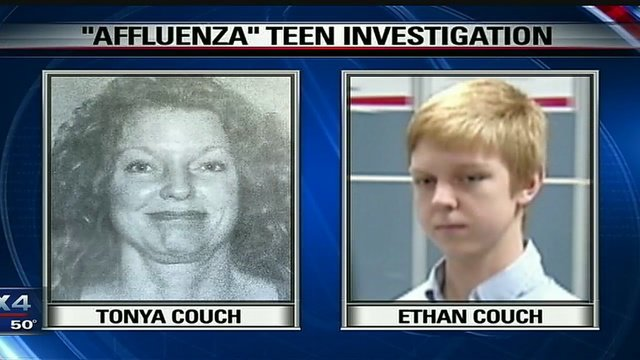 Ethan Couch Affluenza teen and mom caught