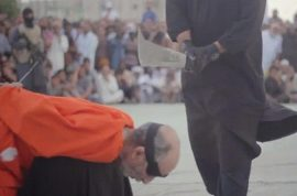 Watch: ISIS behead two Libyan sorcerers for practicing magic