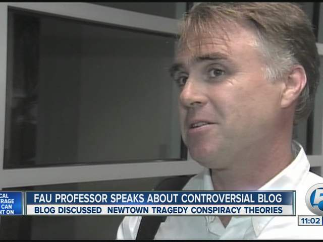 James Tracy FAU professor fired