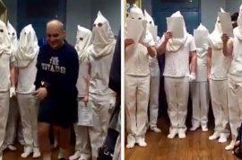KKK Citadel Military cadets suspended: Just singing Christmas carols?