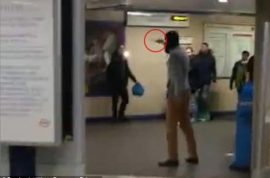 Watch: Leytonstone Tube stabbing, 'This is for Syria'