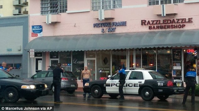 Miami bank robber killed by cops