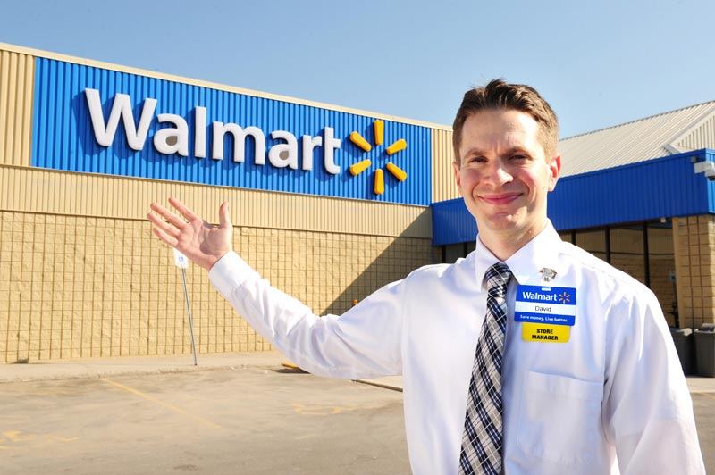 Michael Walsh 18 year Walmart employee fired