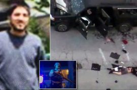 Muslim newlyweds massacre co workers who threw them baby shower