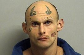 'Fxck Cops' Paul Terry tattoo robber easily identified by victim