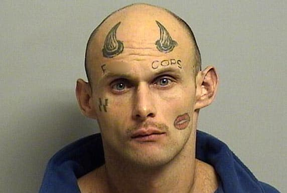 Paul Terry tattoo robber