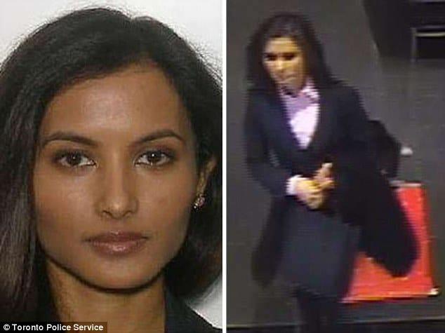 Rohinie Bisesar, MBA graduate arrested