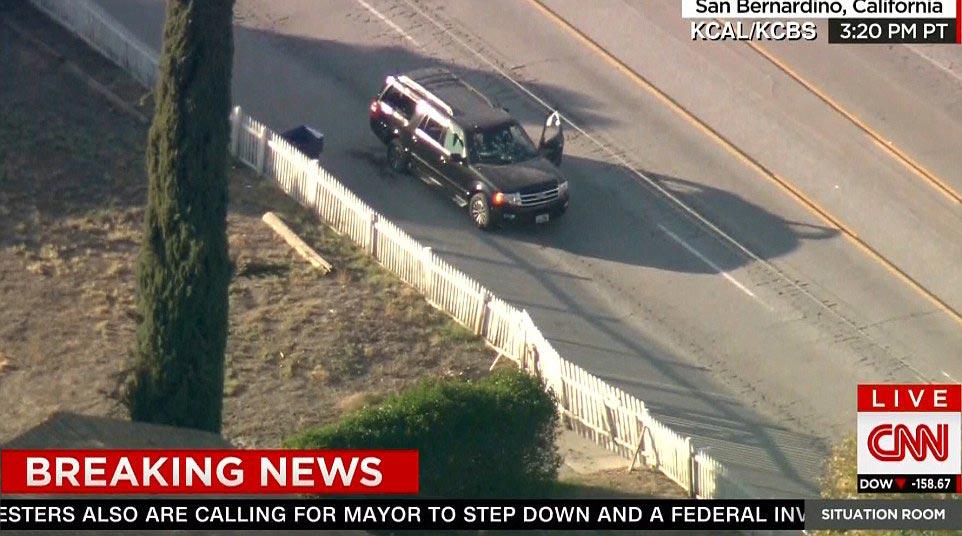 San Bernardino suspect shot dead