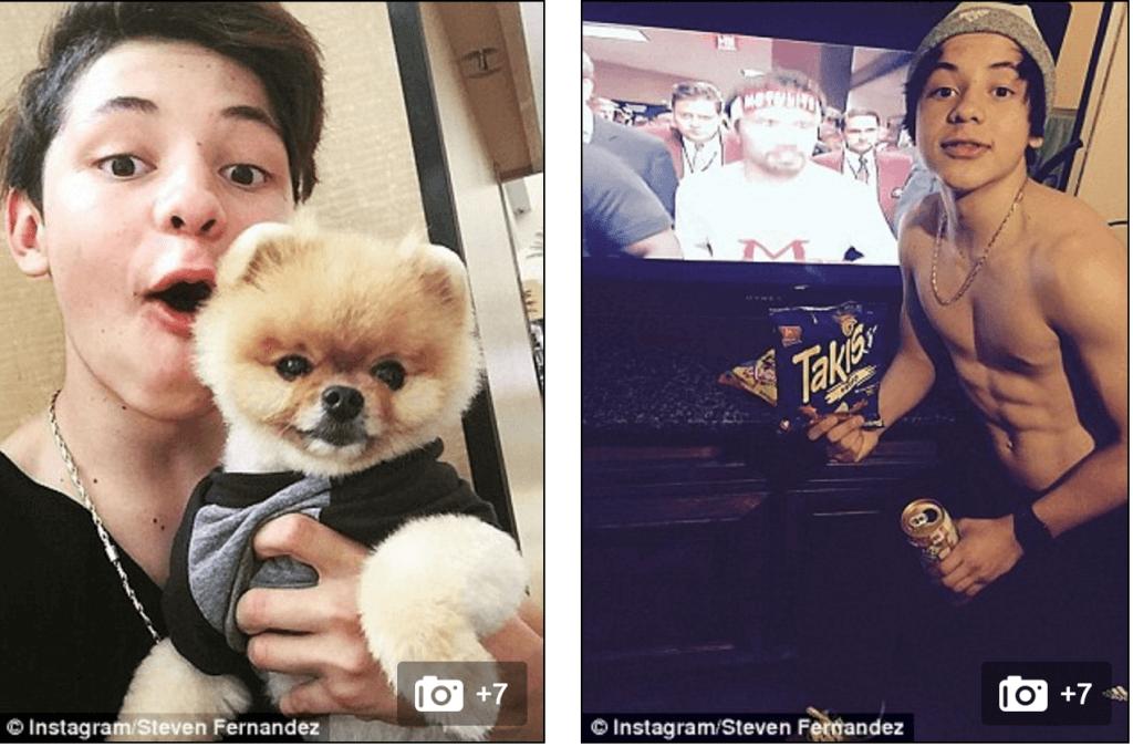 Youtube star Steven Fernandez arrested