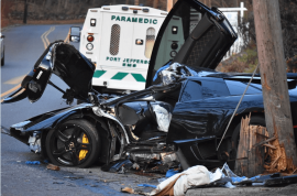 Glen Nelson Lamborghini driver dies after slamming into utility poll