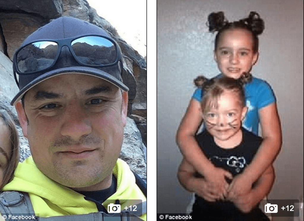 Levi Parker Arizona dad kills daughters