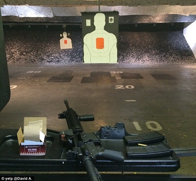 Syed Rizwan Farook practiced killing with assault rifle at gun range
