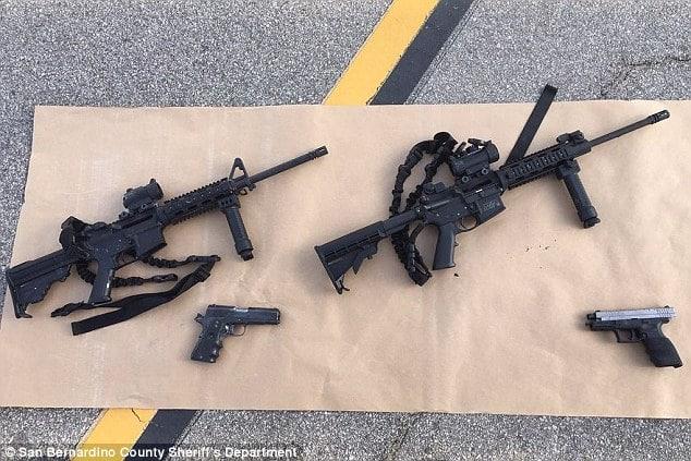 Syed Rizwan Farook practiced killing with assault rifle at gun range