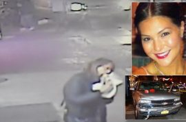 Watch: New York woman eating yummy pizza witnesses fatal car crash, walks off
