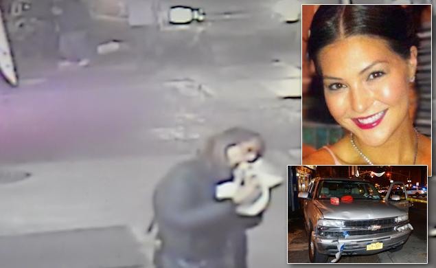 New York woman eating pizza witnesses fatal car crash walks off