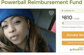 Cinnamon Nicole Powerball Gofundme campaign shut down