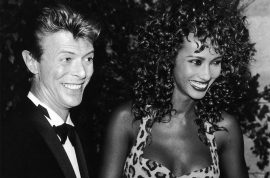 David Bowie $100m will: $50m to Iman $0 to Angie Bowie