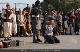 NSFW: ISIS Libya executes three, whips three for drinking, blasphemy
