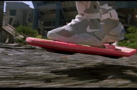 Jazzmyne Hester shot over hoverboard Xmas gift